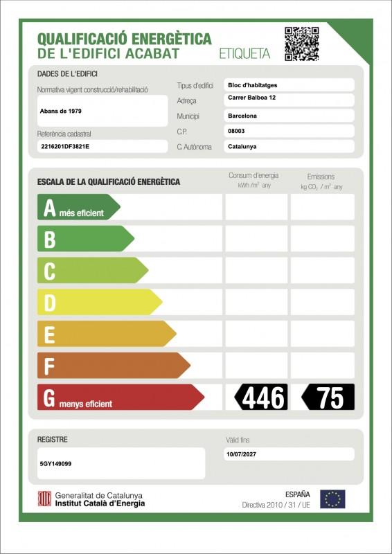imagen certificado energetico